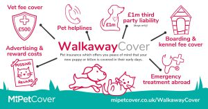 MiPet Cover - Walkaway Cover featured benefits