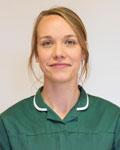 Edith Michelmore, nurse at Battle Flatts Veterinary Clinic